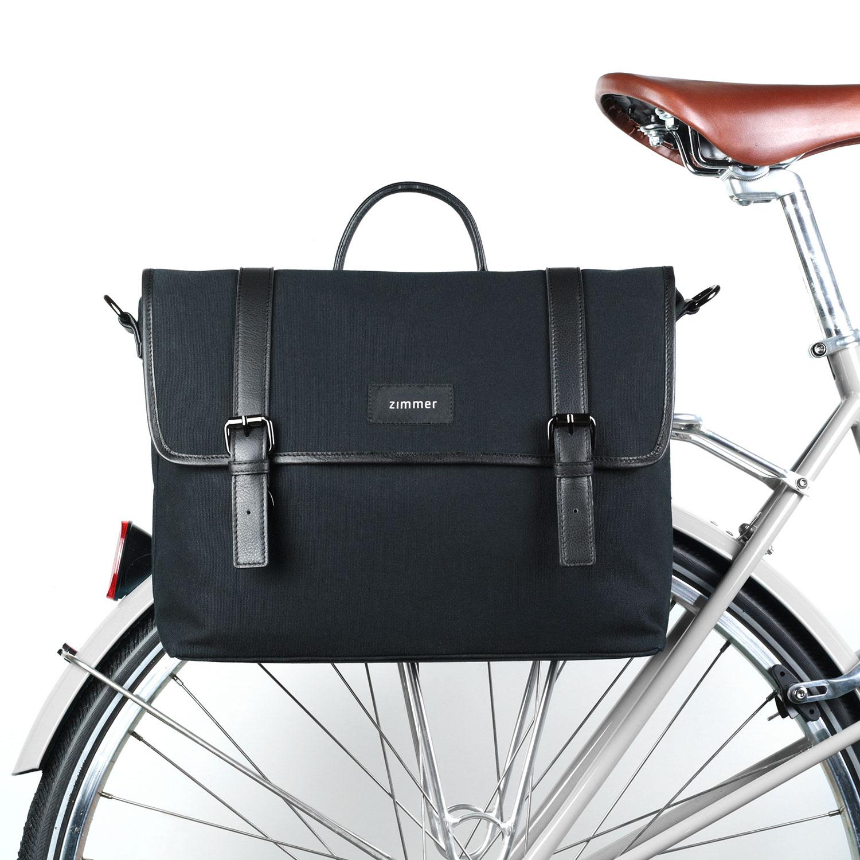 Fahrradtasche Toronto am Gepäckträger