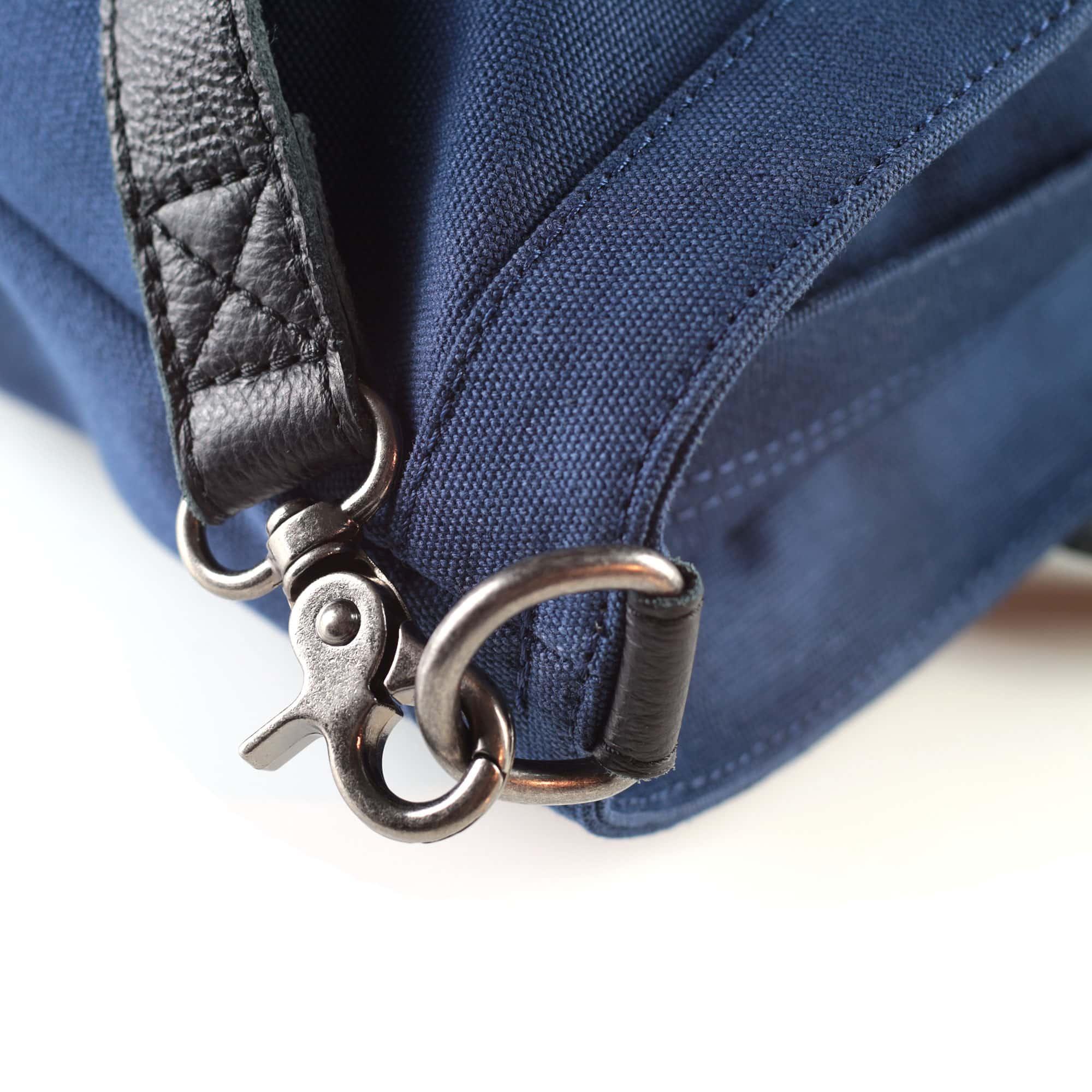 fahrradtasche montreal shopper detail blau