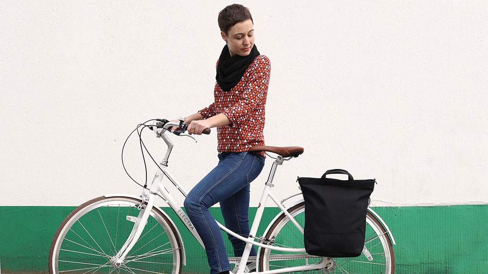 Fahrradtasche MONTREAL am Fahrrad