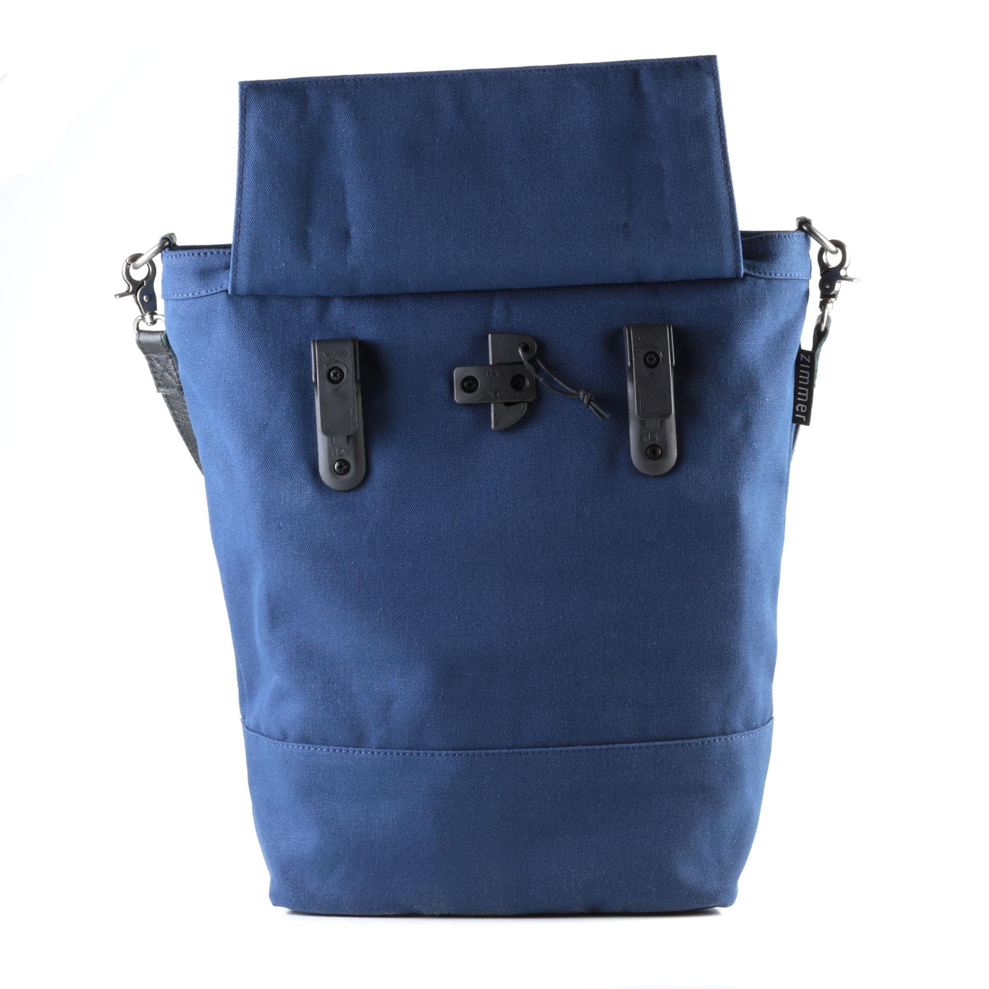 radtasche montreal blau hinten offen