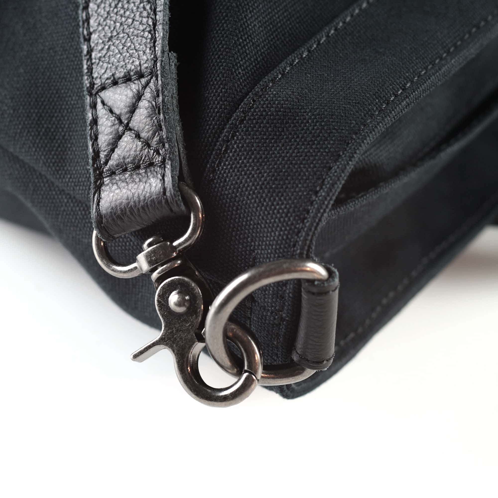 fahrradtasche-montreal shopper detail schwarz